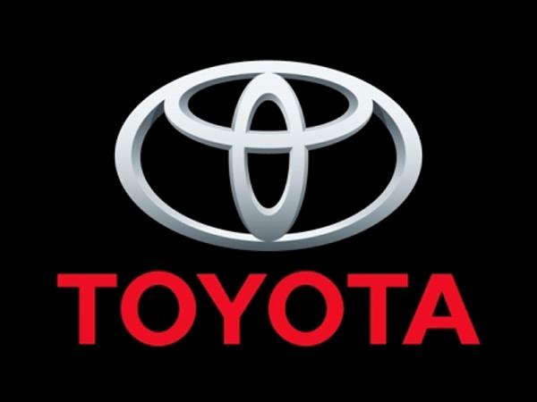 Логотип Toyota.