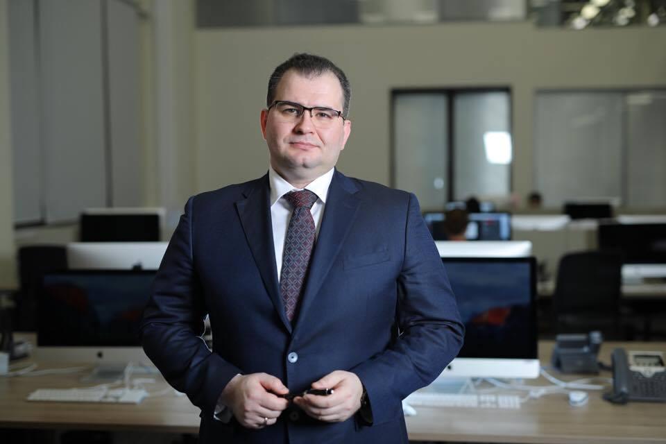 Арсений Оганесян, главный редактор газеты «Известия»