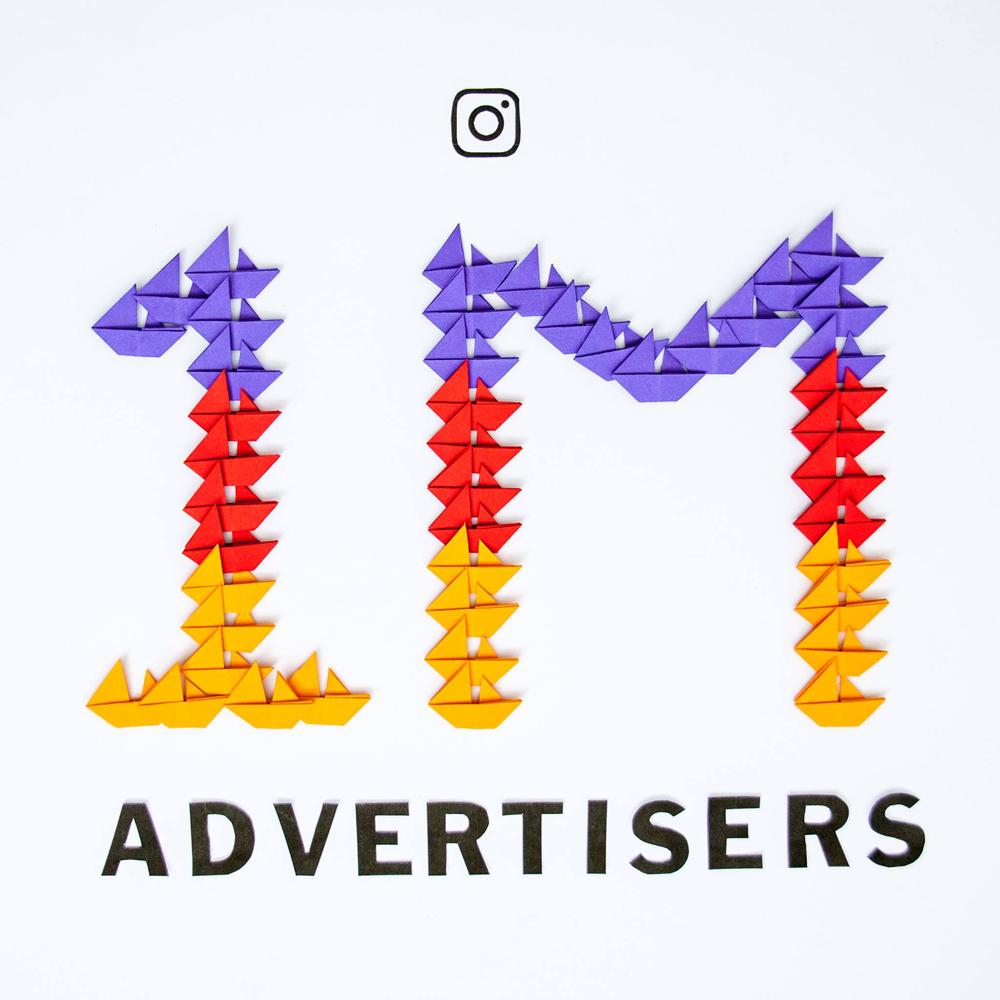 Число рекламодателей Инстаграм достигло млн.