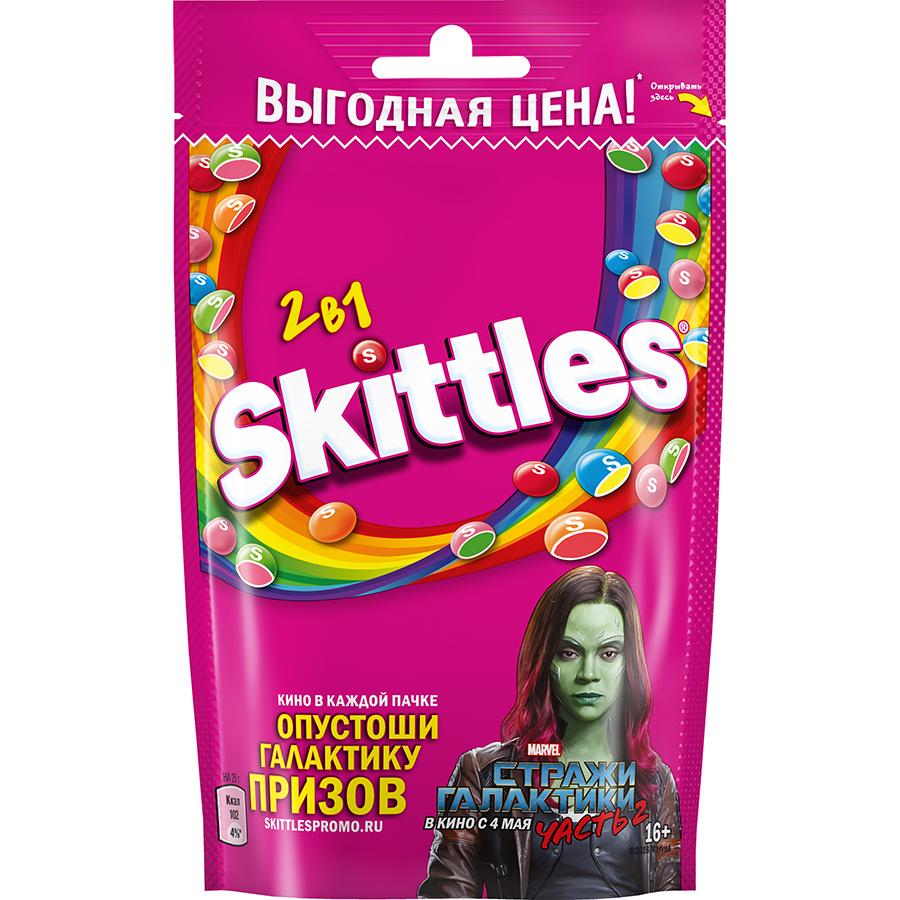 Wrigley анонсировала выпуск драже Skittles с изображением Стражей Галактики