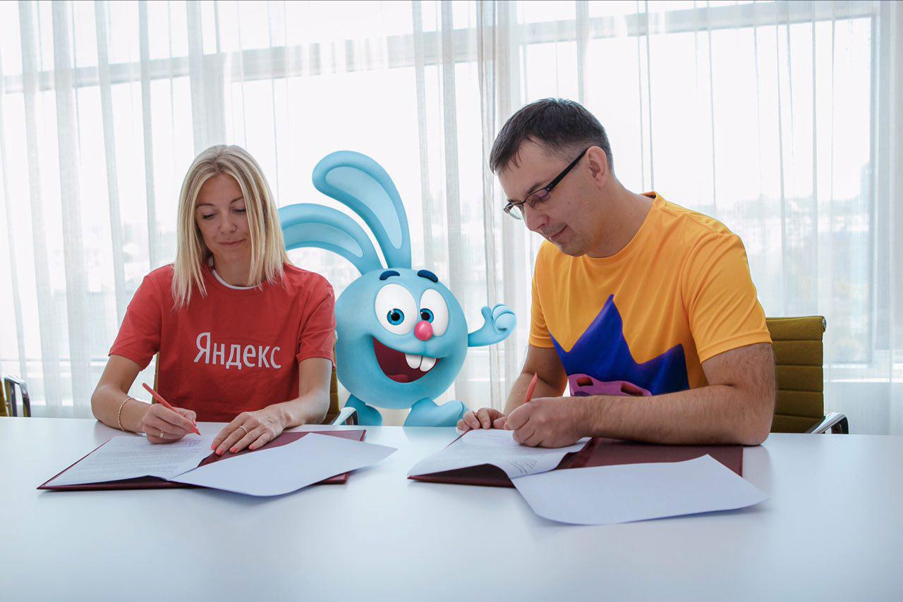 Яндекс исоздатели «Смешариков» расскажут детям отехнологиях