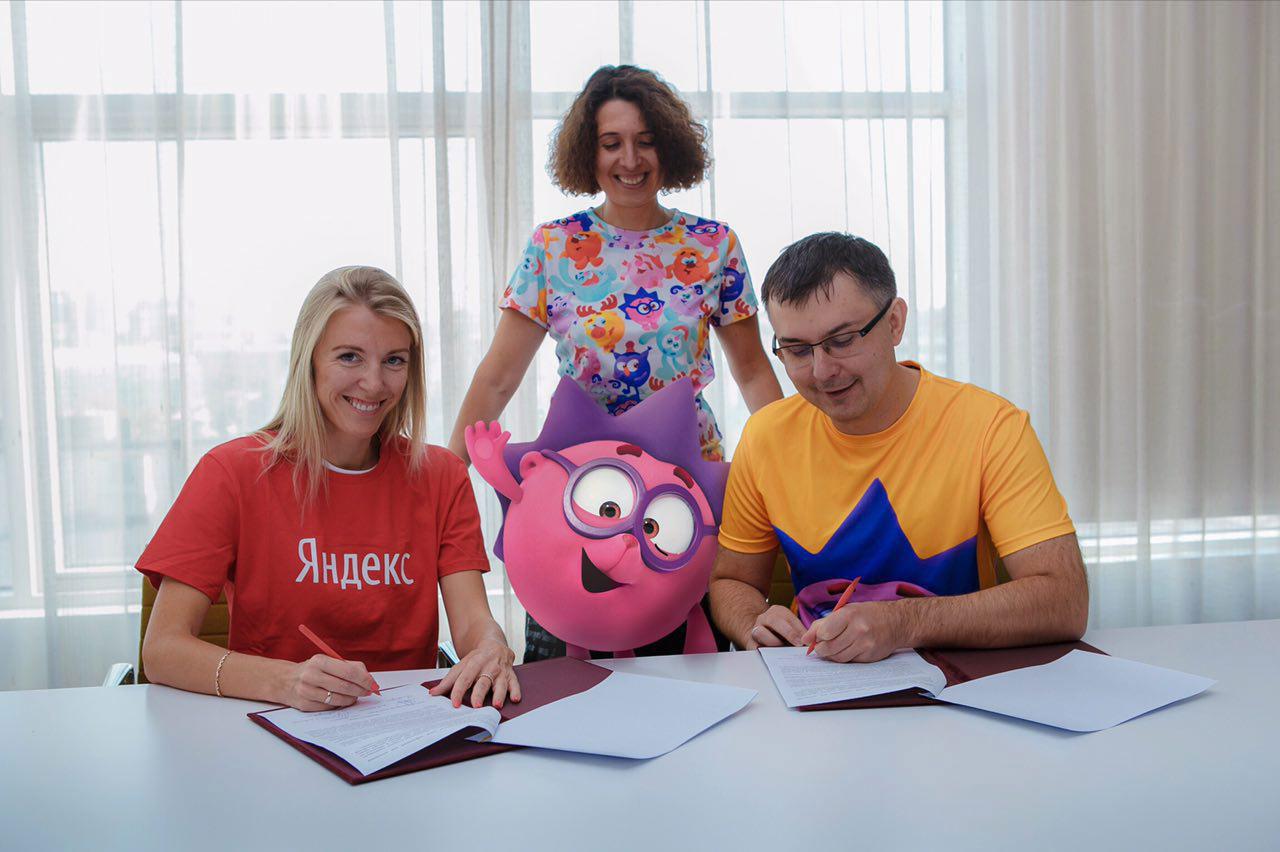 Герои мультфильмов «Смешарики» расскажут детям обинтернет-технологиях