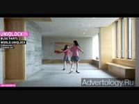 "Медиа-проект ""Uniqlock"", бренд: Uniqlo, агентство: Projector Inc."