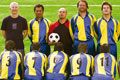 "Печатная реклама ""Team photo""  Агентство: EURO RSCG Prague  Рекламодатель: Termix Club  Бренд: Termix Club"