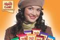 """Печатная реклама """"Шоколадомания-2""""  Агентство: Ogilvy & Mather Russia  Рекламодатель: Kraft Foods Russia  Бренд: Alpen Gold"""