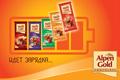 """Печатная реклама """"Индикатор зарядки 2""""  Агентство: Ogilvy & Mather Russia  Рекламодатель: Kraft Foods Russia  Бренд: Alpen Gold"""
