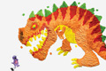 "Печатная реклама ""Dino""  Агентство: BBDO Guerrero  Рекламодатель: Hewlett-Packard  Бренд: HP"