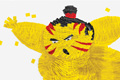 "Печатная реклама ""Sumo""  Агентство: BBDO Guerrero  Рекламодатель: Hewlett-Packard  Бренд: HP"