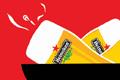 """Печатная реклама """"Freshly baked""""  Агентство: Ama Leo Burnett  Рекламодатель: Heineken  Бренд: Heineken"""