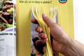 """Печатная реклама """"Spaghetti""""  Агентство: EURO RSCG Prague  Бренд: Panzani  19 Московский международный фестиваль рекламы RedApple, 2009 1 место (Наружная и печатная реклама (Продукты питания))"""