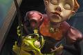 """Печатная реклама """"Принцесса и лягушка""""  Агентство: Saatchi & Saatchi Russia  Бренд: Фенистил  14 Национальный фестиваль рекламы """"Идея!"""", 2010 3 место (Печатная Реклама (Продукты питания и напитки))"""