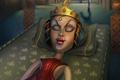 """Печатная реклама """"Спящая принцесса""""  Агентство: Saatchi & Saatchi Russia  Бренд: Фенистил  Белый Квадрат, 2011 2 место (КРАСОТА И ЗДОРОВЬЕ)"""