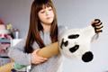 "Печатная реклама ""Panda""  Агентство: CLM BBDO / Boulogne Billancourt  Рекламодатель: Hewlett-Packard  Бренд: HP"