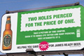 "Наружная реклама ""Coupon Billboard 2""  Агентство: Leo Burnett Toronto  Рекламодатель: James Ready  Бренд: James Ready"