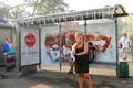 """Медиа-проект """"Ледяные автобусные остановки""""  Агентство: Publicis United  Рекламодатель: Coca-Cola Company  Бренд: Coca-Cola"""
