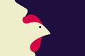 "Печатная реклама ""Chicken Lips""  Агентство: Ogilvy & Mather Paris  Рекламодатель: IBM  Бренд: IBM"