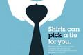 """Печатная реклама """"Neck Tie""""  Агентство: Ogilvy & Mather Paris  Рекламодатель: IBM  Бренд: IBM"""