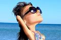 """Печатная реклама """"Beach""""  Агентство: Impact BBDO Beirut  Рекламодатель: Samsung  Бренд: Samsung"""