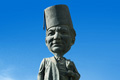 "Печатная реклама ""Statue""  Агентство: Impact BBDO Beirut  Рекламодатель: Samsung  Бренд: Samsung"