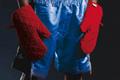 "Печатная реклама ""Gloves""  Агентство: The Raft  Рекламодатель: Fighting 4 Fitness  Бренд: Fighting 4 Fitness"