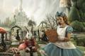 """Печатная реклама """"Alice in Wonderland""""  Агентство: Ogilvy & Mather  Рекламодатель: Gandhi Bookstores  Бренд: Gandhi Bookstores"""