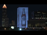 "Медиа-проект ""Coca-Cola 3D 125th Anniversary Illumination"", бренд: Coca-Cola, агентство: Obscura Digital"