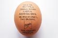 """Печатная реклама """"Egg""""  Агентство: M&C Saatchi  Рекламодатель: Steggles Chicken  Бренд: Steggles Chicken"""