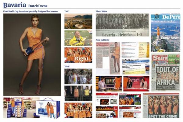 "Нестандартная реклама ""Bavaria dutchdress"", бренд: Bavaria, агентство: Selmore Creative Agency Amsterdam"