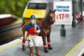 "Печатная реклама ""Polo""  Агентство: CDP London  Рекламодатель: UK National Express Trains  Бренд: National Express"