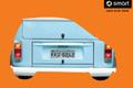 """Печатная реклама """"90 degress, 2""""  Агентство: Ponto de Criacao  Рекламодатель: Daimler AG  Бренд: Smart"""