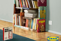"Печатная реклама ""Bookcase""  Агентство: TBWA Istanbul  Рекламодатель: IKEA  Бренд: IKEA"