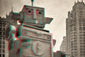 "Сувенир ""Робот""  Агентство: Kaffeine Communications"