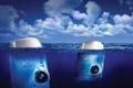 "Печатная реклама ""Icebergs""  Агентство: Longplay 360º  Рекламодатель: Fujifilm  Бренд: Fujifilm Finepix"