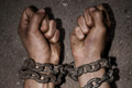 "Печатная реклама ""Chains""  Агентство: Garbergs  Рекламодатель: Amnesty International  Бренд: Amnesty International"