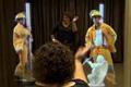 "Нестандартная реклама ""Magic mirror""  Агентство: DDB Toronto  Рекламодатель: Penningtons  Бренд: Penningtons"