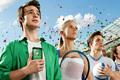 """Печатная реклама """"Стань первым в Лондоне, 2""""  Агентство: McCann Erickson Russia  Рекламодатель: Мегафон  Бренд: Мегафон"""