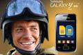 """Печатная реклама """"Samsung Y Duos, 1""""  Рекламодатель: Евросеть  Бренд: Samsung"""
