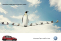 """Печатная реклама """"Volkswagen Tiguan с функцией Park Assist""""  Агентство: DDB Russia  Рекламодатель: Volkswagen"""