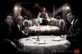 """Печатная реклама """"Стейки с кровью""""  Агентство: B.I.T.A. Advertising  Рекламодатель: Ресторан SOHO"""