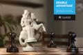 """Печатная реклама """"Двойная Фигура""""  Агентство: Leo Burnett Ukraine  Рекламодатель: Киевстар  Бренд: Киевстар"""