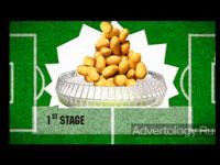 """Медиа-проект """"Самые футбольные чипсы"""", бренд: Люкс, агентство: Tabasco / Full Contact / Prodigi"""