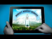 "Медиа-проект ""The World`s Deepest Website"", бренд: Borjomi, агентство: Ogilvy & Mather Ukraine"