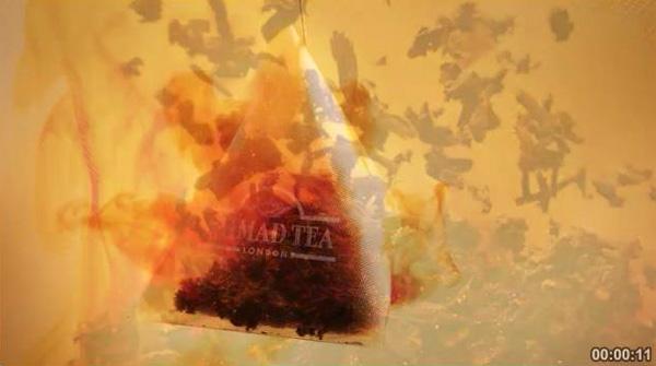 """Телереклама """"Грушевый штрудель"""", бренд: Ahmad Tea"""
