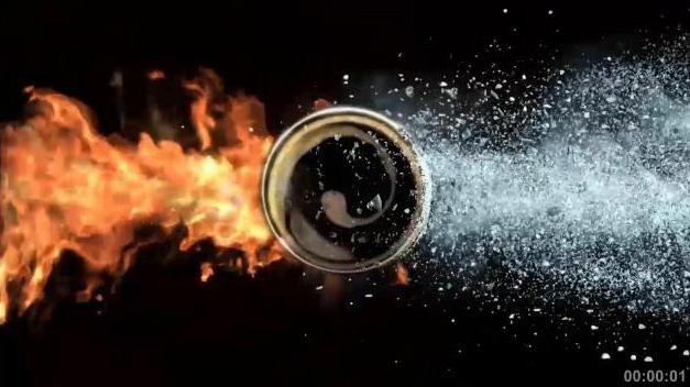"""Телереклама """"Огонь и лед"""", бренд: Carte Noire"""