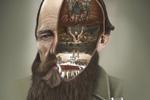 "Печатная реклама ""Dostoyevsky""  Агентство: Not Perfect Y&R I Vilnius  Рекламодатель: Eureka!  Бренд: Vilnius Book Festival 2013"