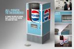 """Упаковка """"Ретро стакан""""  Агентство: BBDO Ukraine  Рекламодатель: Pepsico Ukraine  Бренд: Pepsi"""