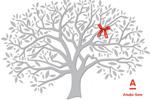 """Сувенир """"Древо желаний""""  Агентство: CYCLOPES agency  Бренд: Альфа-Банк  VI Международный Фестиваль Маркетинга и Рекламы """"Белый Квадрат"""", 2014 1 место (Графический и коммуникационный дизайн (D6 календарь))"""