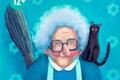 """Печатная реклама """"Моя Бабушка-Яга""""  Агентство: AnyBodyHome!  Рекламодатель: Memini.ru"""