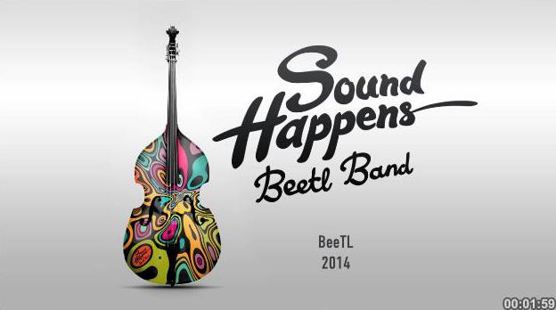 """Медиа-проект """"Souns Happens"""", рекламодатель: BeeTL, агентство: BeeTL"""