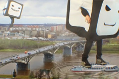 "Телереклама ""Новгород""  Рекламодатель: Телеканал 2х2  Бренд: 2х2"
